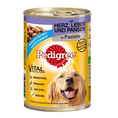 Pedigree Classic Adult Hundefutter Dosen