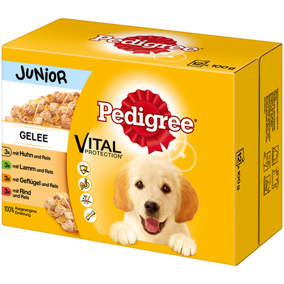 Pedigree Junior - Portionsbeutel im Multipack