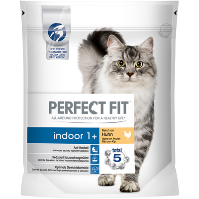Perfect Fit Indoor 1+ reich an Huhn - Trockenfutter