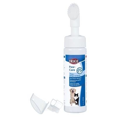 Pfotenreiniger für Hunde und Katzen mit Bürste