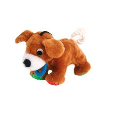 Plüsch-Hund mit Tau Welpenspielzeug