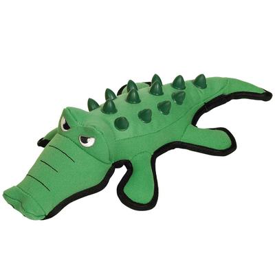Plüsch Krokodil Hundespielzeug Extra Strong mit TPR Noppen