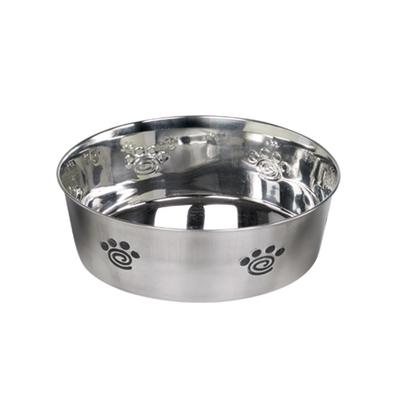 Premium Hundenapf aus Edelstahl HEAVY SPIRAL rutschfest