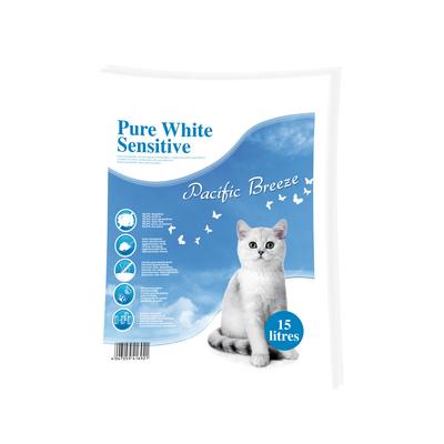 Pure White Sensitive Katzenstreu Pacific Breeze