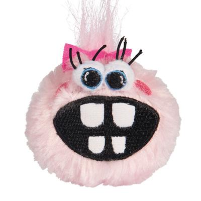 Rogz Grinz Fluffy - Welpenhundeball mit Quietscher
