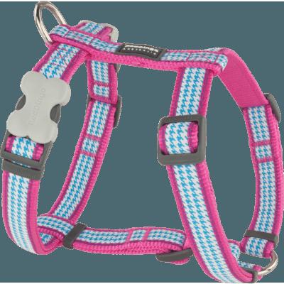 Red Dingo Hundegeschirr Design Fang It Hot Pink