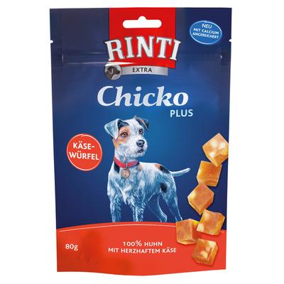 Rinti Chicko Plus Käsewürfel mit Huhn