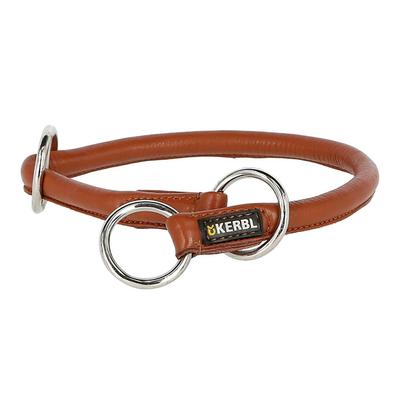 Rundleder Schlupf Halsband Roma mit Stopper für Hunde
