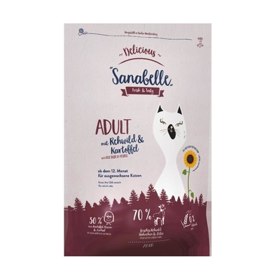 Sanabelle Delicious Adult Rehwild + Kartoffel