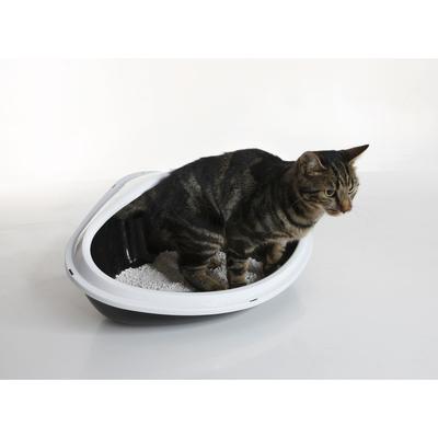 Savic Ecktoilette für Katzen Concha