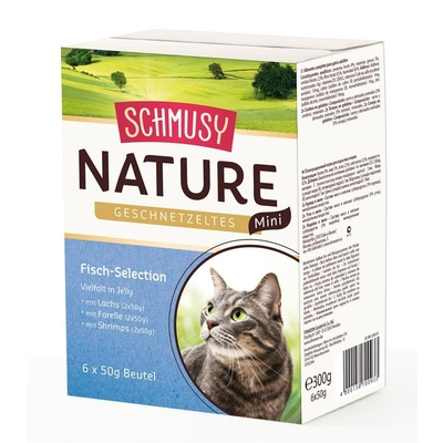 Schmusy Nature Geschnetzeltes Mini Selection