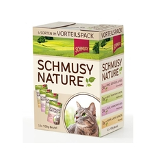 Schmusy Natures Menü Multipack Katzenfutter