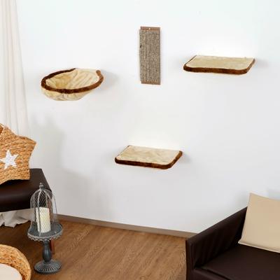 Silvio Design Kletterwand für Katzen 4-teilig