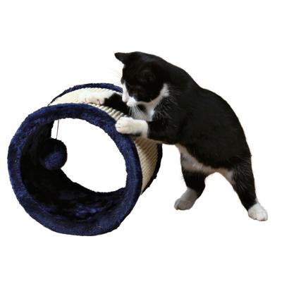Sisal-Spielrolle für Katzen, ø 23 × 20 cm, blau