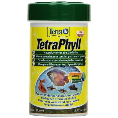 TetraPhyll Flockenfutter für Zierfische