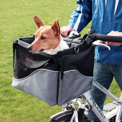 Trixie Front-Box Fahrradtasche für Hunde