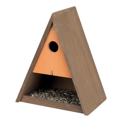 Vogel Futterkasten und Nistkasten