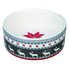 Weihnachtsnapf aus Keramik für Hunde und Katzen