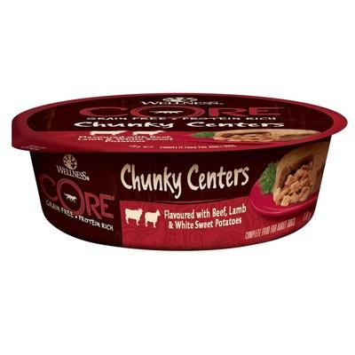 Wellness CORE Chunky Centers Hundefutter