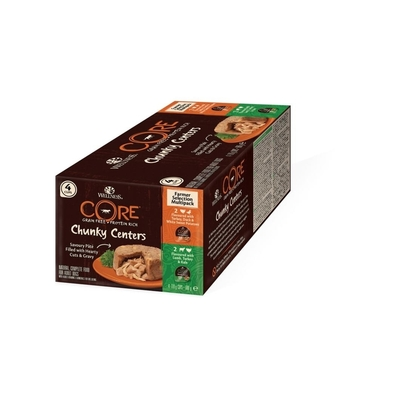 Wellness CORE Chunky Centers Multipack Hundefutter