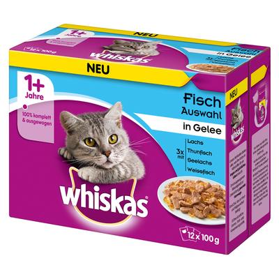 Whiskas Adult 1+ - Portionsbeutel im Multipack