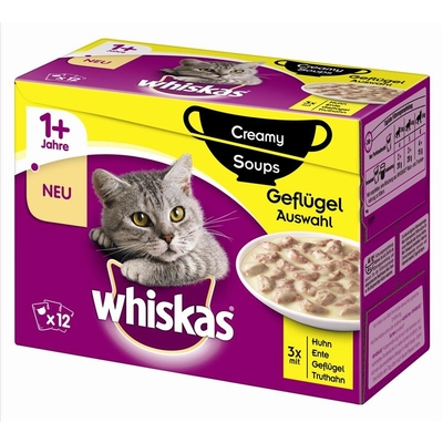 Whiskas Portionsbeutel Multipack 1+ Creamy Soups