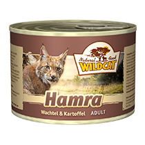 Wildcat Hamra Katzenfutter Nassfutter Dosen