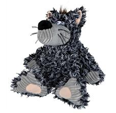 Wolf aus Plüsch für Hunde