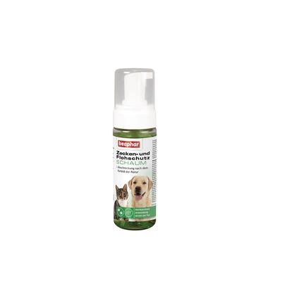 Zeckenschutz und Flohschutz Schaum für Hunde und Katzen