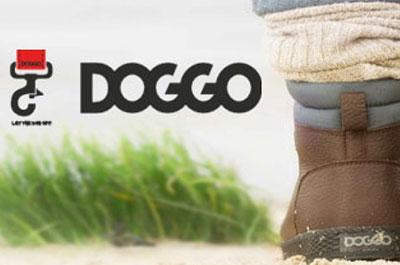 Doggo Gummistiefel für Hundehalter