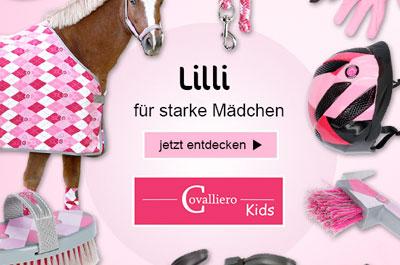 Covalliero Lilli Reitzubehör für Mädchen
