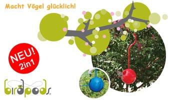 Birdpods Vogelhaus