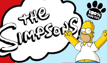 Die Simpsons Hundespielzeug