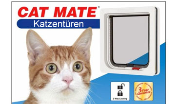 CAT MATE Katzentüren und Katzenklappen