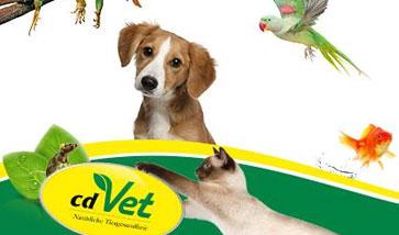 cdVet Naturprodukte für Hunde