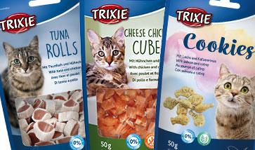 Trixie Katzensnacks und Katzen Leckerlis